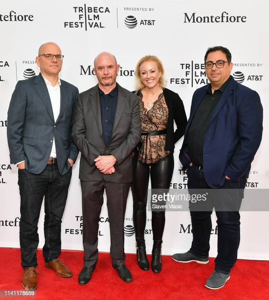 Executive producer of See Saw Films Jamie Laurenson writer/executive producer Nick Hornby EVP of International Programming at AMC Networks Kristin...