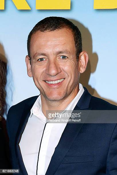 Executive Producer of the movie Dany Boon attends the Ma famille t'adore deja' Paris Premiere at Cinema Elysee Biarritz on November 7 2016 in Paris...