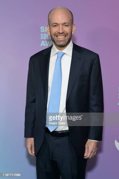 Executive producer of The Shorty Award Gregory Galant attends the 4th Annual Shorty Social Good Awards at Current at Chelsea Piers on November 14...