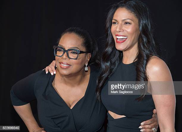 Executive Producer Oprah Winfrey and Actress Merle Dandridge attend Tribeca Tune In Greenleaf 2016 Tribeca Film Festival at John Zuccotti Theater at...