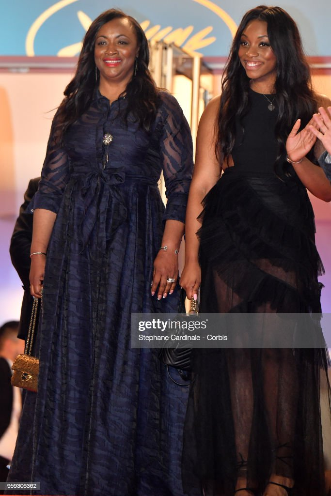 Executive Producer Pat Houston and Rayah Houston attend the screening of 'Whitney' during the 71st annual Cannes Film Festival at Palais des Festivals on May 16, 2018 in Cannes, France.