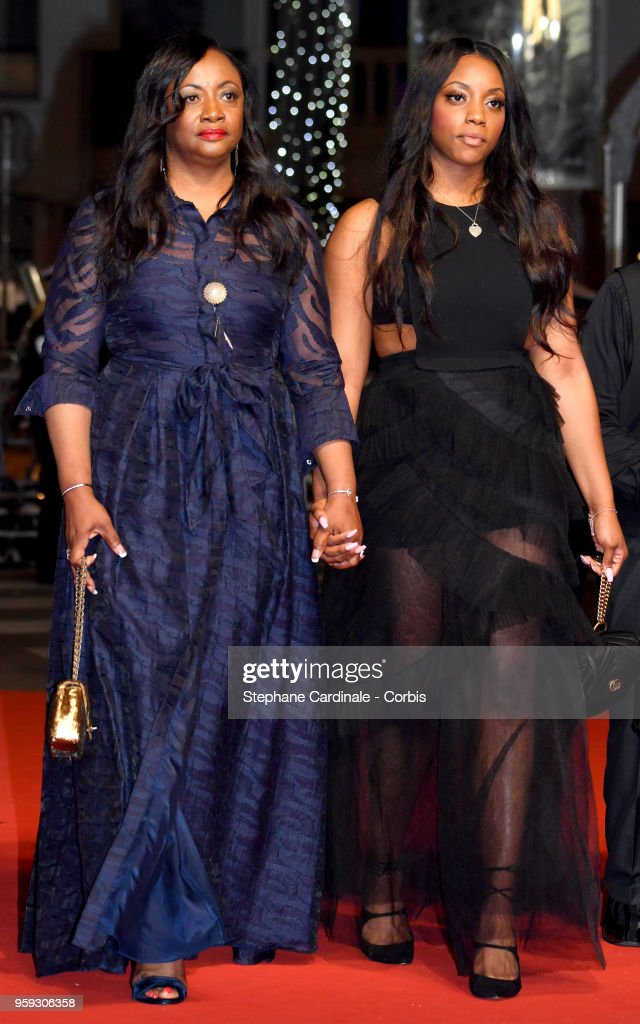 Executive Producer Pat Houston and Rayah Houston attends the screening of 'Whitney' during the 71st annual Cannes Film Festival at Palais des Festivals on May 16, 2018 in Cannes, France.