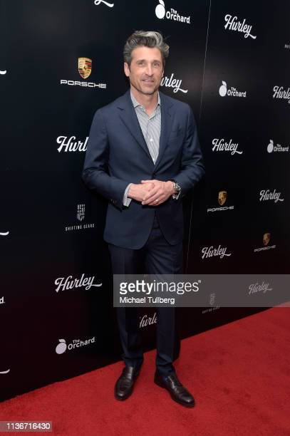 """Executive Producer Patrick Dempsey attends the Los Angeles premiere of """"Hurley"""" presented by The Orchard at Petersen Automotive Museum on March 18,..."""