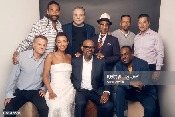 Executive producer Paul Eckstein Vincent D'Onofrio Giancarlo Esposito Nigel Thatch Producer James Acheson Executive producer Chris Brancato Ilfenesh...