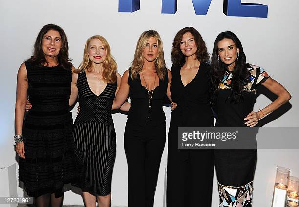Executive Producer Paula Wagner actress Patricia Clarkson Executive Producer and Director Jennifer Aniston actress Jeanne Tripplehorn and Director...