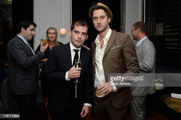 "Executive Producer Peer Pedersen and actor Ryan Eggold attend the ""Lucky Them"" World Premiere After Party, AMC Storys, Toronto International Film..."