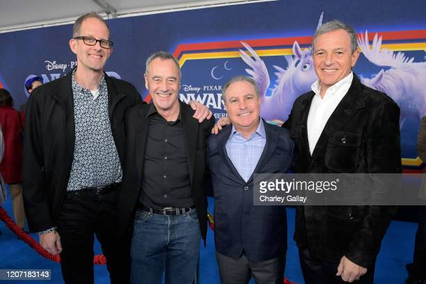 Executive producer Pete Docter President of Pixar Animation Studios Jim Morris CoChairman The Walt Disney Studios Alan Bergman and The Walt Disney...