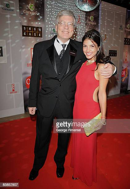Executive producer Peter Raymont and actress Nazneen Contractor attend the 2008 Gemini Awards at the Metro Toronto Convention Centre on November 28...