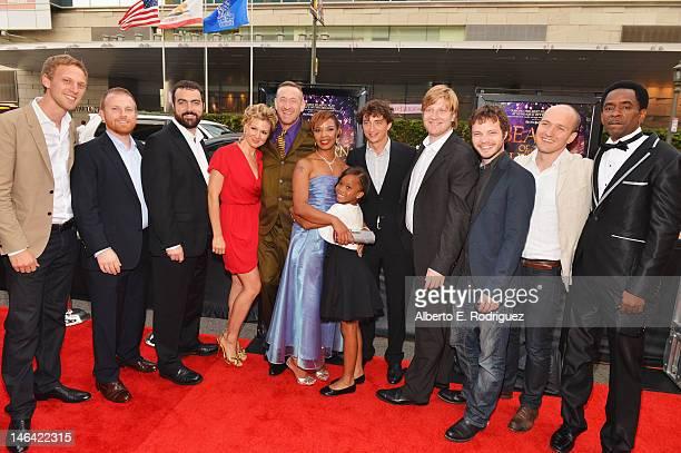 Executive Producer Philipp Engelhorn producers Michael Gattwald Josh Penn writer Lucy Alibar actors Levy Easterly Jovan Hathaway Quvenzhane Wallis...