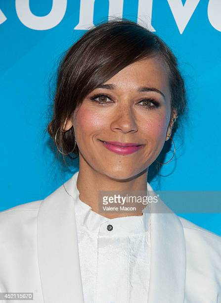 Executive producer Rashida Jones attends NBCUniversal's 2014 Summer TCA Tour Day 1 at The Beverly Hilton Hotel on July 13 2014 in Beverly Hills...