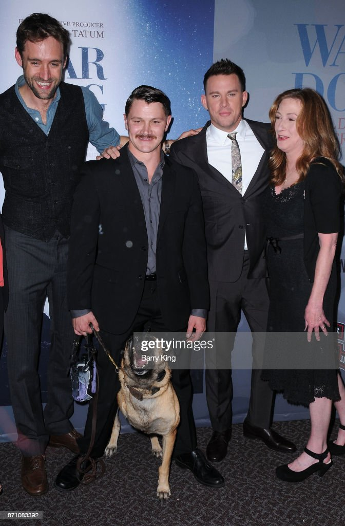 """HBO And Army Ranger Lead The Way Fun Present The Premiere Of """"War Dog: A Soldier's Best Friend"""" - Arrivals"""