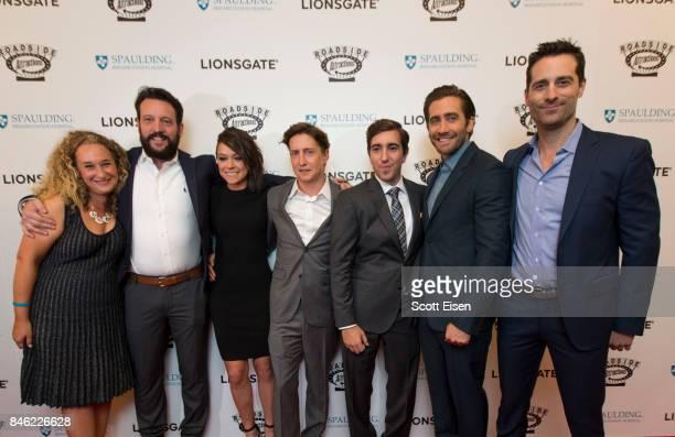 Executive Producer Riva Marker, from left, Writer John Pollono, Actress Tatiana Maslany, Director David Gordon Green, Boston Marathon bombing...
