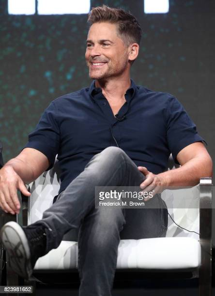 Executive producer Rob Lowe of 'The Lowe Files ' speaks onstage during the AE portion of the 2017 Summer Television Critics Association Press Tour at...