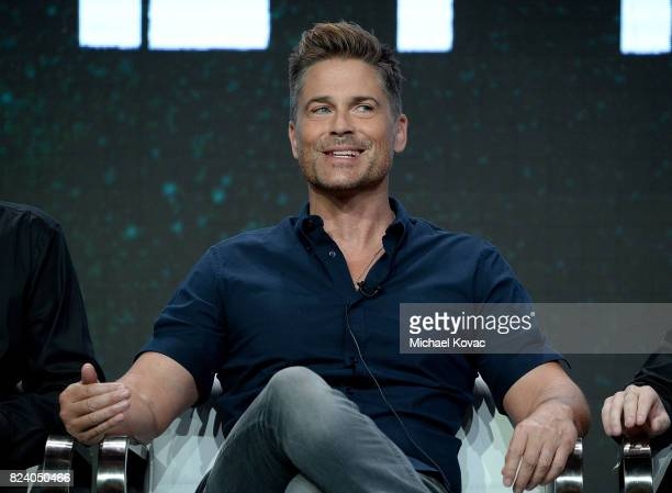 Executive producer Rob Lowe of 'The Lowe Files ' speaks onstage during the AE Networks portion of the 2017 Summer Television Critics Association...