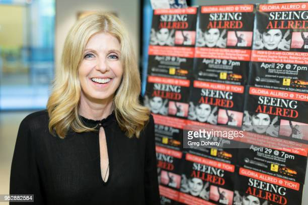 Executive Producer Robbie Rowe Tollin attends the screening of 'Seeing Allred' at the 2018 Los Angeles Jewish Film Festival on April 29 2018 in...