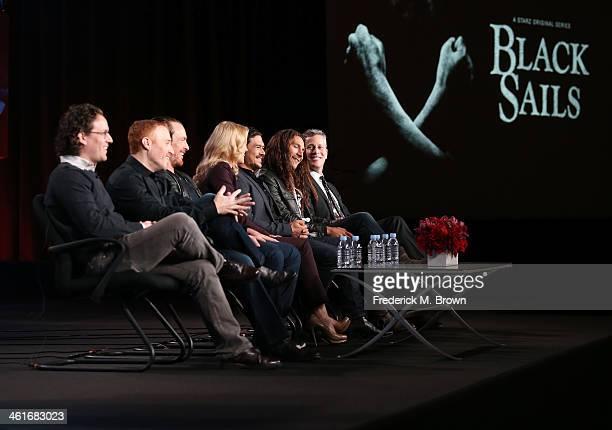 Executive Producer Robert Levin Executive Producer/Creator Jonathan Steinberg actors Toby Stephens Hannah New Luke Arnold Zach McGowan and executive...