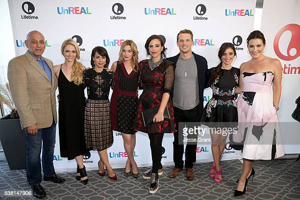 Executive producer Robert M Sertner actress Johanna Braddy actress Constance Zimmer TV personality Elizabeth Wagmeister executive producer Stacy...