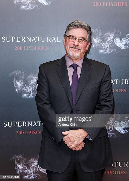 Executive Producer Robert Singer celebrates the 200th episode of 'Supernatural' at Fairmont Pacific Rim Hotel on October 18 2014 in Vancouver Canada