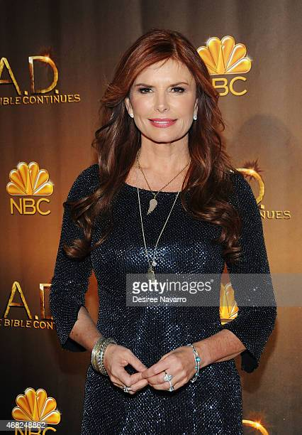 Executive Producer Roma Downey attends 'AD The Bible Continues' New York Premiere Reception at The Highline Hotel on March 31 2015 in New York City