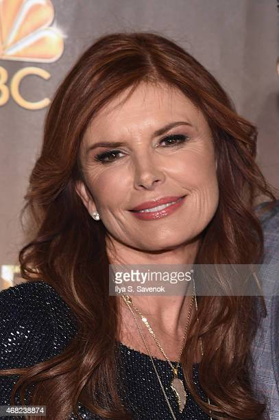 Executive Producer Roma Downey attends the 'AD The Bible Continues' New York Premiere Reception at The Highline Hotel on March 31 2015 in New York...