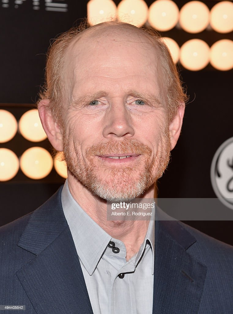 Executive Producer Ron Howard attends National Geographic Channel's 'Breakthrough' world premiere event at The Pacific Design Center on October 26, 2015 in West Hollywood, California.