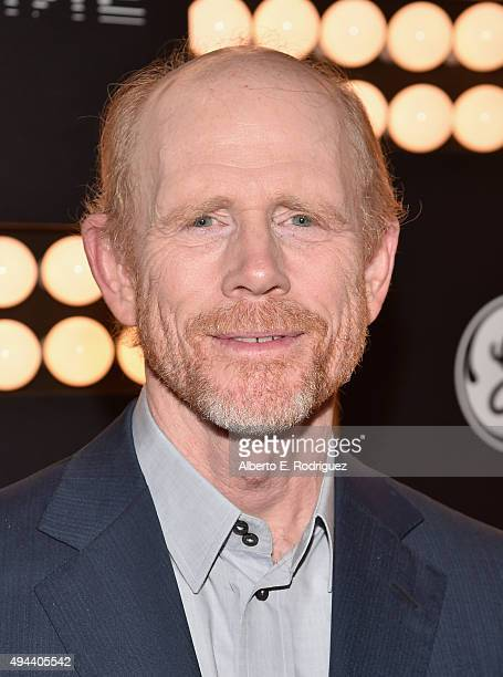 Executive Producer Ron Howard attends National Geographic Channel's 'Breakthrough' world premiere event at The Pacific Design Center on October 26...