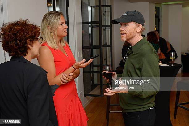 Executive Producer Ron Howard attends the private screening and QA for Showtime Documentary Films Prophet's Prey at Bryant Park Hotel on September 15...