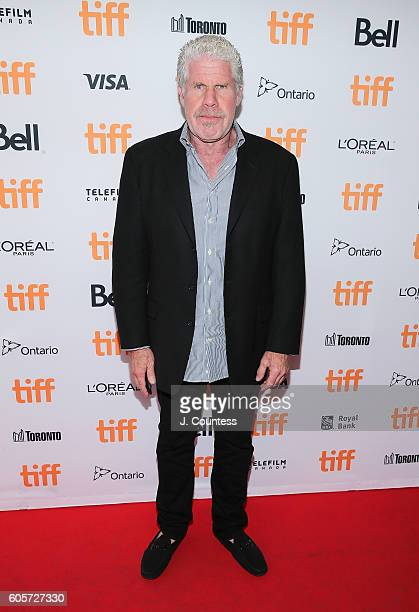 Executive producer Ron Perlman attends the 2016 Toronto International Film Festival Premiere of 'All I See Is You' at the Princess of Wales Theatre...