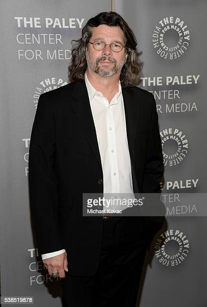 """Executive producer Ronald D. Moore attends The Paley Center for Media presents The Artistry of """"Outlander"""" at The Paley Center for Media on June 6,..."""