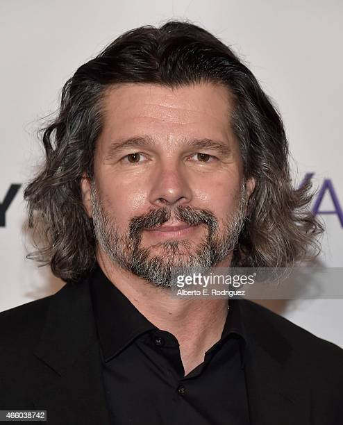 """Executive producer Ronald D. Moore attends The Paley Center for Media's 32nd Annual PALEYFEST LA """"Outlander"""" at Dolby Theatre on March 12, 2015 in..."""