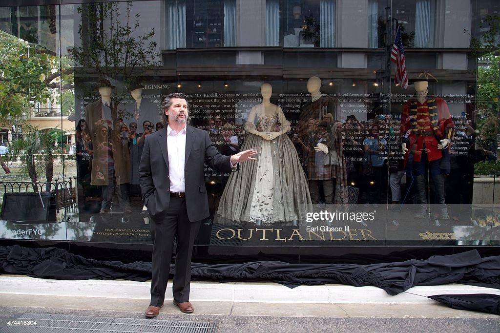 "STARZ Presents ""Outlander: A Tartan Affair"" Costume Exhibition Unveiling At The Grove : News Photo"