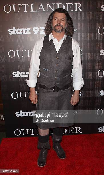 """Executive Producer Ronald Moore attends the """"Outlander"""" series screening at 92nd Street Y on July 28, 2014 in New York City."""