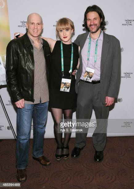 Executive producer Russell Miller Luisa Conlon and Daryl Freimark attend the Five Star Premiere during the 2014 Tribeca Film Festival at Chelsea Bow...