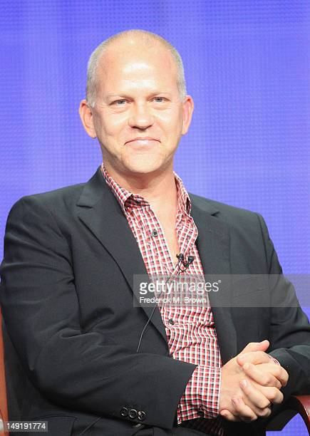 Executive Producer Ryan Murphy speaks onstage at 'The New Normal' panel during day 4 of the NBCUniversal portion of the 2012 Summer TCA Tour held at...