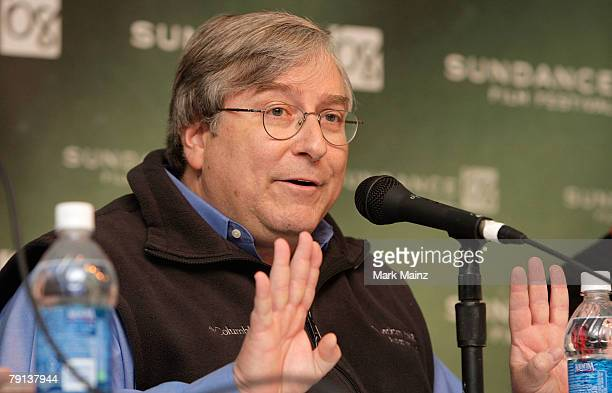 Executive producer Sandy Climan speaks during the U2 3D panel discussion at the Sundance Film Festival on January 20 2008 in Park City Utah