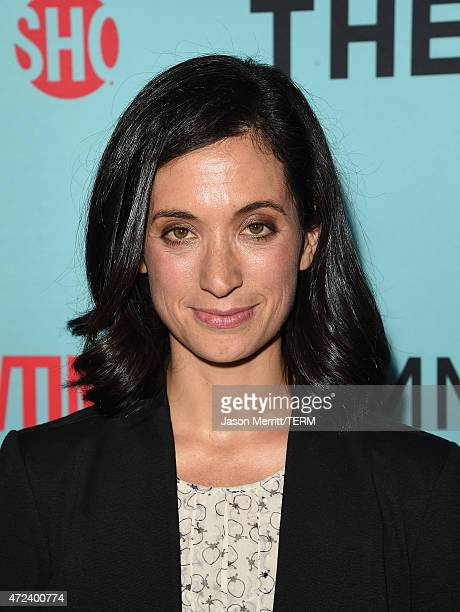 Executive producer Sarah Treem attends Showtime's 'The Affair' screening and panel discussion at Samuel Goldwyn Theater on May 6 2015 in Beverly...