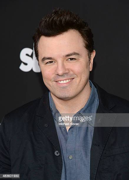 Executive Producer Seth McFarlane attends the STARZ' 'Blunt Talk' series premiere on August 10 2015 in Los Angeles California