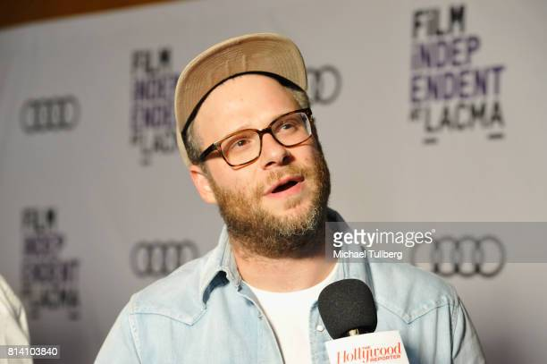 """Executive Producer Seth Rogen attends Film Independent at LACMA's special screening of """"Preacher"""" at Bing Theatre At LACMA on July 13, 2017 in Los..."""