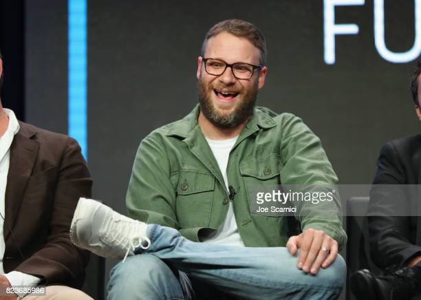 Executive producer Seth Rogen speaks onstage during Summer TCA at The Beverly Hilton Hotel on July 27 2017 in Beverly Hills California