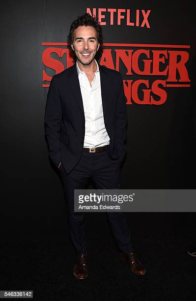 Executive producer Shawn Levy arrives at the premiere of Netflix's 'Stranger Things' at Mack Sennett Studios on July 11 2016 in Los Angeles California