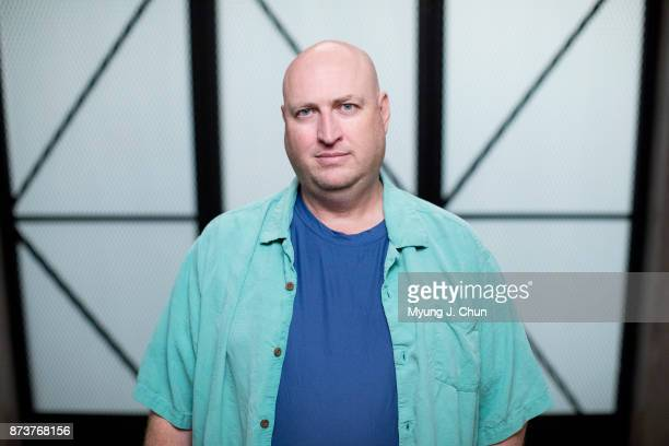 Executive producer Shawn Ryan of CBS's 'SWAT' is photographed for Los Angeles Times on October 19 2017 in Los Angeles California PUBLISHED IMAGE...