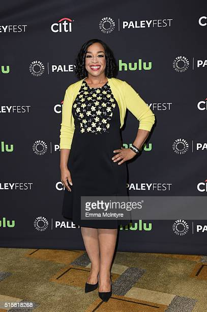 Executive Producer Shonda Rhimes attends The Paley Center For Media's 33rd Annual PaleyFest Los Angeles - 'Scandal' at Dolby Theatre on March 15,...