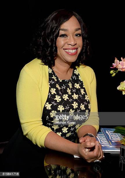 Executive producer Shonda Rhimes attends The Paley Center For Media's PaleyFest 2016 Honoring Scandal at The Dolby Theatre on March 15 2016 in Los...