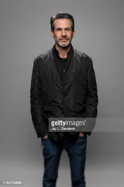 Executive producer Simon Kinberg from 'The Twilight Zone' is photographed for Los Angeles Times on March 24 2019 during PaleyFest at the Dolby...