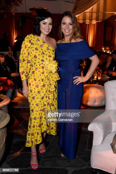 Executive producer Sophia Amoruso and show creator Kay Cannon attend the after party for the premiere of Netflix's 'Girlboss' at Le Jardin on April...