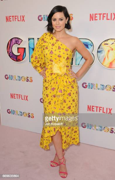 Executive producer Sophia Amoruso arrives at the premiere of Netflix's Girlboss at ArcLight Cinemas on April 17 2017 in Hollywood California