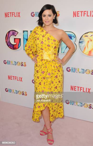 Executive producer Sophia Amoruso arrives at the premiere of Netflix's 'Girlboss' at ArcLight Cinemas on April 17 2017 in Hollywood California