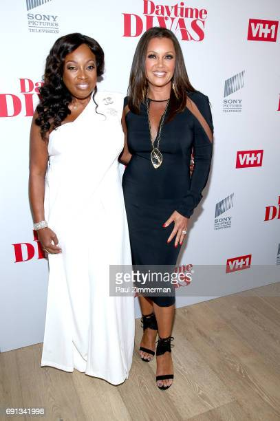 Executive producer Star Jones and actress Vanessa Williams attend the 'Daytime Diva's' New York Screening at the Whitby Hotel on June 1 2017 in New...