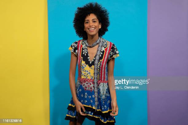 Executive producer Stefani Robinson of 'What We Do in the Shadows' is photographed for Los Angeles Times at ComicCon International on July 20 2019 in...