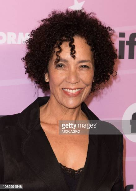 Executive Producer Stephanie Allain arrives for the world premiere of 'LifeSize 2' at the Hollywood Roosevelt hotel in Hollywood on November 27 2018